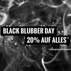 Black Friday Shisha Blubber Day
